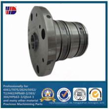 Kundengebundene Stahl- und Edelstahl-CNC-Präzision bearbeitete Komponenten