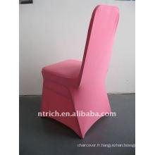 housse de chaise en spandex rose / rose vif, CTS686, pour toutes les chaises