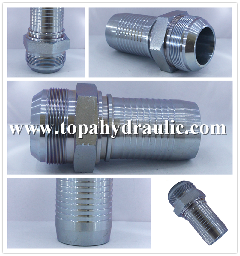 aeroquip mild steel nitrogen jic fittings