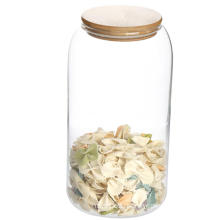 Seal Glass Storage Cannisters Caddy Jars