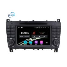 Android Double Din GPS Benz C-Class W203