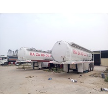 Vacuum Suction Tanker Truck Semi Trailer Volume 25000Liter