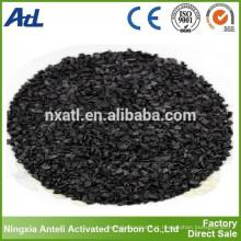 Carvão ativado com iodo baixo carbono 300 mg / g de carbono do carvão