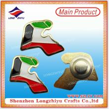 Casting UAE Flag Enamel Magnetic Collar Badge Middle East National Day Souvenir Badge