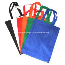 Цветные нетканые мешки с ручками