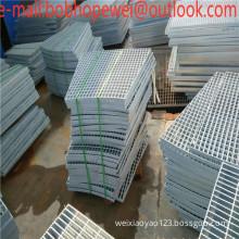 32X5mm hot dipped galvanized steel bar steel grating and serrated design platform flooring