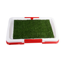 China Professional Supplier for Dog Toilet Indoor Dog Puppy Potty Training Fence Tray Pad supply to Seychelles Supplier