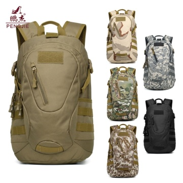 Outdoor double shoulder tactical nylon backpack