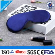 Anpassen Logo Druck Günstige Umweltfreundliche Naturseide Stoff Schlaf Augenmaske (oeko-tex)