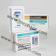 Анти-морщин ботулинического токсина типа 100iu