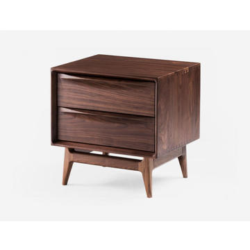 FAS Walnut Solid Nightstands