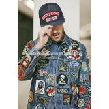 Customized Embroidered Patches on coat