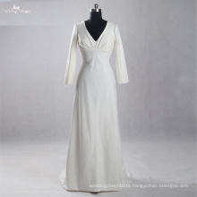 LZ164 Long Sleeve A Line Especial Designer Fabric Dresses Mulheres Elegante