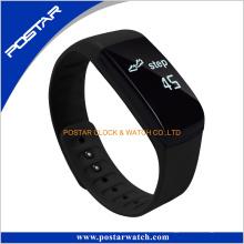 Silikonband Smart Armbanduhr mit Herzfrequenz