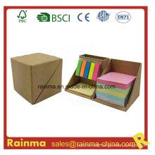Eco Memo Pad with Cardboard Pen Holder