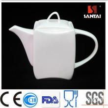 Hot selling/white porcelain/ gentle design tea kettle