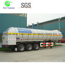 Ahf Loading Medium Cryogenic Tank Container Semi Trailer
