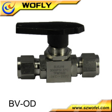 "high pressure gas 1/2"" ss 316l ball valve"