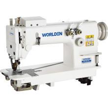WD-3820PL duas agulhas Chainstitch máquina de costura com extrator.