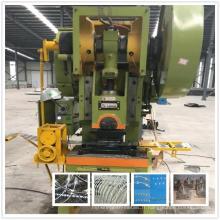 Machine à fil de fer barbelé double torsion hexagonale lourde