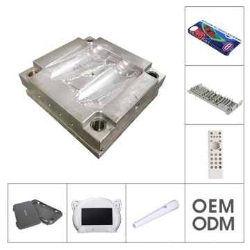 Din Rail Enclosure with Terminals in Plastic Mold