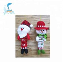 pequeno brinquedo de pelúcia de Natal decoração de pelúcia