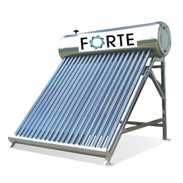 Pre-Heated Copper Coil Solar Water Heater