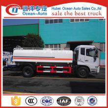 Camión del agua de la impulsión de la mano izquierda, camión del tanque de agua de 12000 litros para la venta