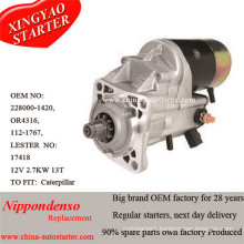 High Torque Starter Motor for Caterpiller Loader Engine (1121767)