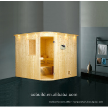 K-716 Large size sauna room/sauna stone, chinese supplier solid wood steam room, sauna room price malaysia