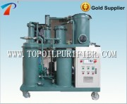 Used vacuum lubricating oil filtration machine remove light hydrocarbon material