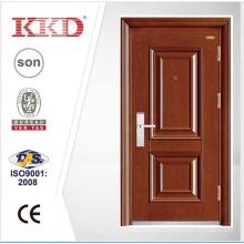 Popular de lujo Exterior puerta KKD-202 acero puerta de seguridad en puerta de China
