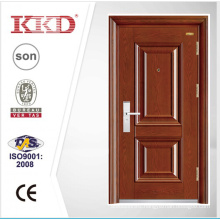 New Design Steel Security Door KKD-202 With Mosa/Matte Paint and Steel Convex/Carved