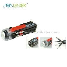 Tournevis multifonctions, tournevis phillips avec lampe de poche LED