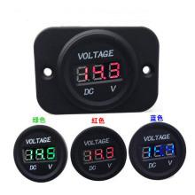 Waterproof 12V-24V Car Motorcycle LED DC Digital Display Voltmeter Meter