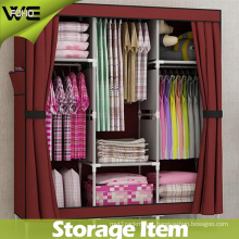 Simple Portable Fabric Storage Cabinet Bedroom Furniture Wardrobe
