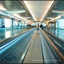 Flughafen Einkaufszentrum Öffentlicher Verkehr Umzug Bürgersteig
