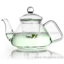 Single Wall Glass Tea Pots Coffee Pots
