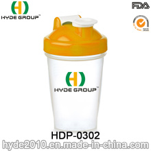 Bouteille en plastique portative de mélangeur de mélangeur de 400ml (HDP-0302)