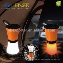 Produits Asia Leader BT-4896 100% Light-70% Light-50% Light-Red Clignotant Blanc SMD LED + 1pcs Rouge SMD LED Camping Light
