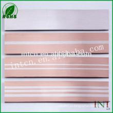 tira de plata de la aleación de metal precioso