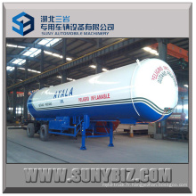 Top Safety Tri-Axle 21t 50000L LPG Tanker Trailer
