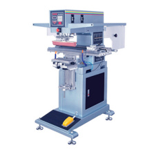 Long Plastic Cover Label Tampo Pad Printing Machine for Single Color
