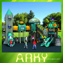 colorful childhood outdoor play equipment