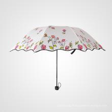 B17 fleur parapluie designer parapluie parasol parapluie
