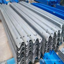 Barrière antichoc en acier galvanisé