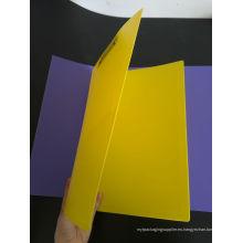 Carpeta de archivo plástica de la impresión de encargo (bolso del PVC)