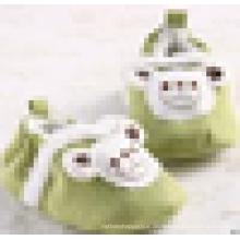 Warme Neugeborene Baby Baby Wildleder Plüsch Rutschfeste Krippe Prewalker Schuhe