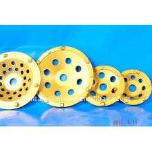 6 ruedas de la taza del PCD para la eliminación del recubrimiento