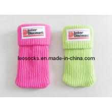 Chaussettes pour téléphone portable avec logo en PVC